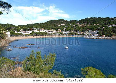 Beach of Llafranc, Spain
