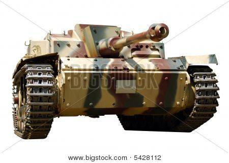 Front View Of Tank