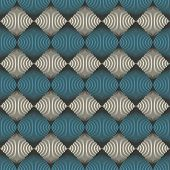 Abstract seamless pattern optical illusion - vector illustration poster
