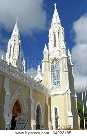 Pilgrimage Church Santuario de la Virgen, Isla Margarita