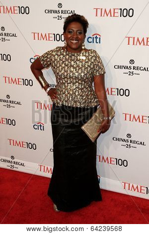 NEW YORK-APR 29: Kenya activist Ory Okolloh attends the Time 100 Gala for the  Most Influential People in the World at the Frederick P. Rose Hall at Lincoln Center on April 29, 2014 in New York City.