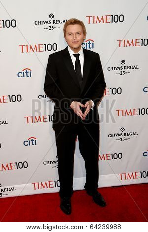 NEW YORK-APR 29: Journalist Ronan Farrow attends the Time 100 Gala for the Most Influential People in the World at the Frederick P. Rose Hall at Lincoln Center on April 29, 2014 in New York City.