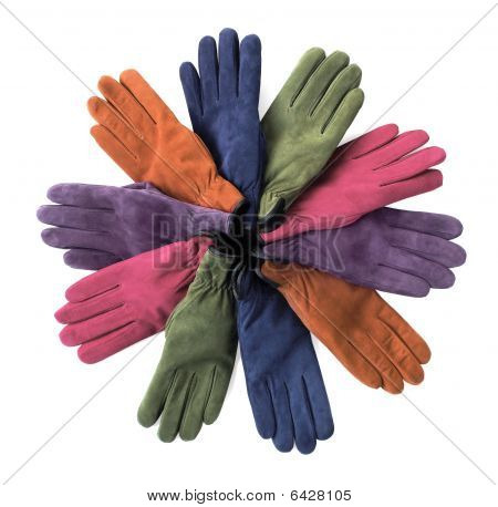 Winter Gloves In Assorted Colors