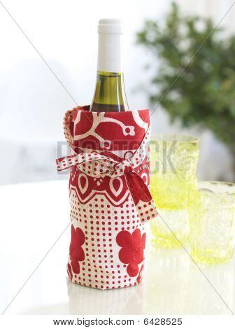 Wine Bottle In A Bag