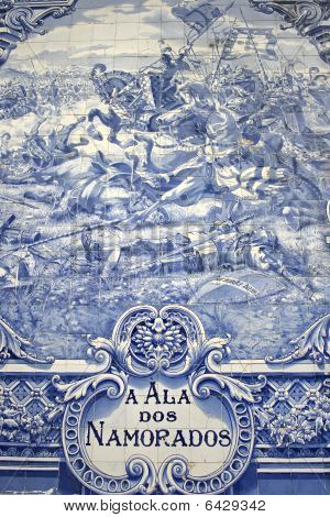 Ancient Portuguese Tile Artwork