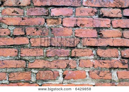 Horizontal bricks background