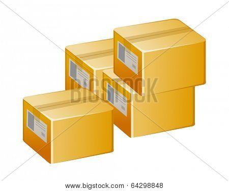 vector icon boxes