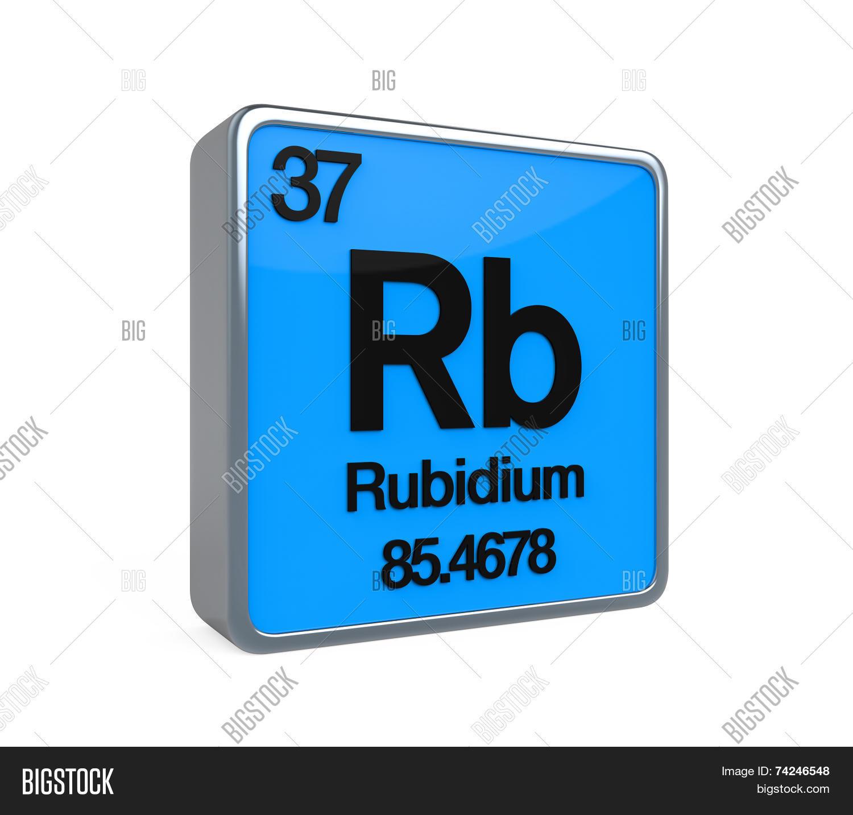 Rubidium Element Image Photo Free Trial Bigstock