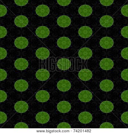 Abstract tileable seamless regular ornamental mosaic pattern poster