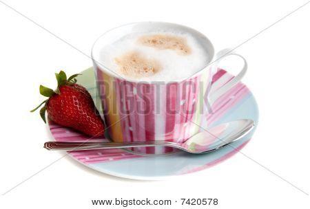 Cappuchino And Strawberry