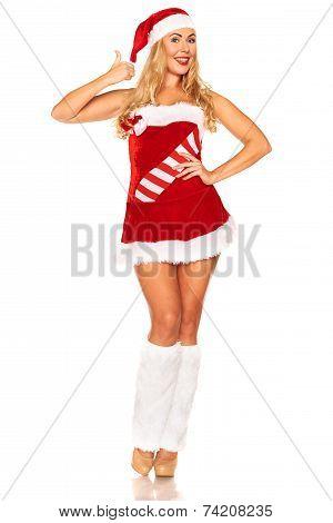 Santa Claus girl