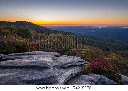 Rough Ridge Overlook Sunrise