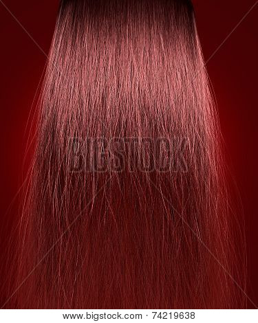 Red Hair Frizzy