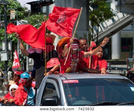 Red Shirt Demonstrations In Bangkok 2010