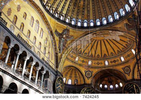 Interior of St. Sophia Basilica
