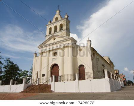Old Church With Three Bells In Santa Clara City (i)
