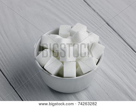 Bowl Of Sugar Lumps