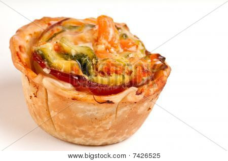 Vegetables Quiche