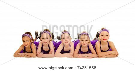 Junior Petite Tap Dance Kids Group