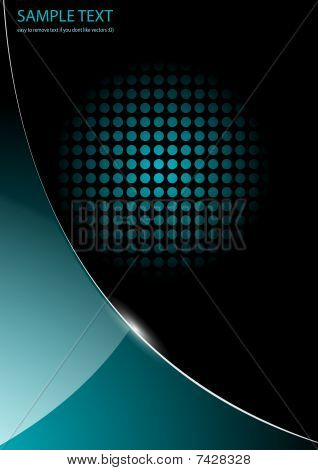 business background blue glossy
