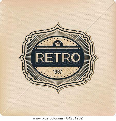 Retro Logo Elements