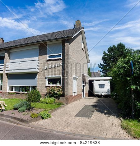 Typical Dutch Semi Detached House