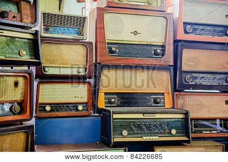 Vintage Radio Tuner Receivers