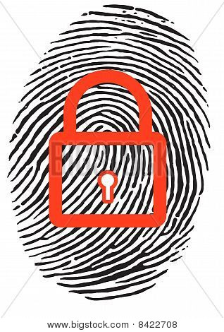 Finger Print With Lock
