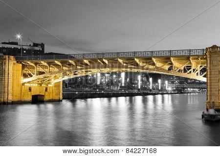 Bridge Of Deusto, Bilbao, Bizkaia, Basque Country, Spain