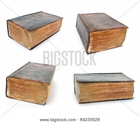 Bible - Collection Of Very Old Open Book