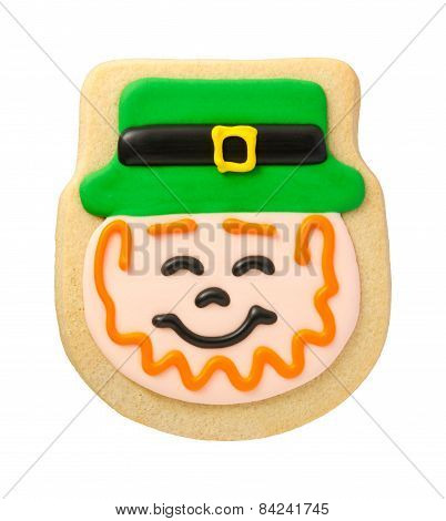 Leprechaun Cookie For St. Patrick's Day