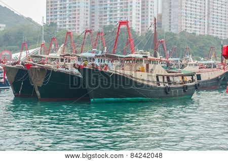 Fishing Trawler in hongkong