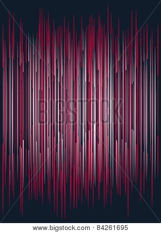 Abstract Colorful Striped Background
