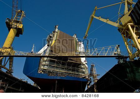 Ship In The Dock