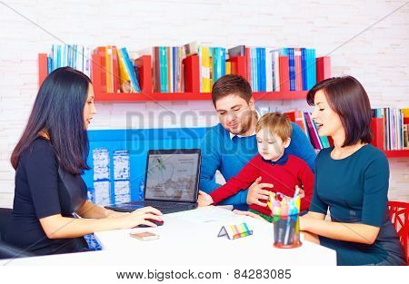 Family In Office At The Professional