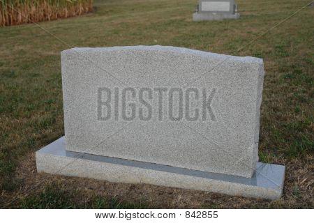 Tombstone...