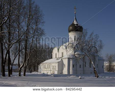 winter church in Alexandrov