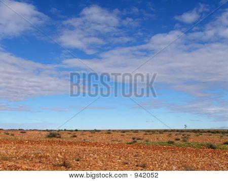Gibber Plain & Sky