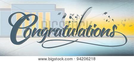 Congratulation Text Banner
