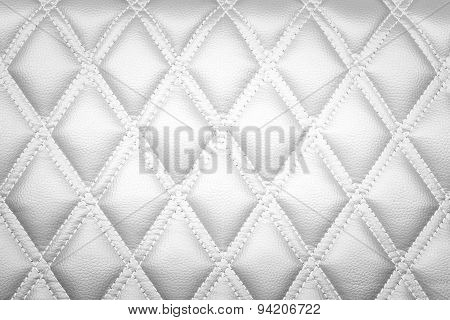 Leather Texture White Color