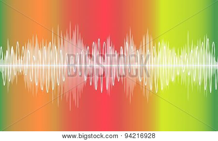 Vector Music Volume Abstract Background