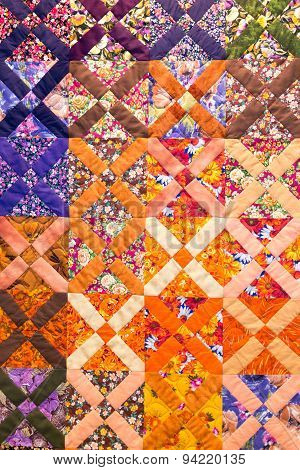 Multicolored Woven Texture