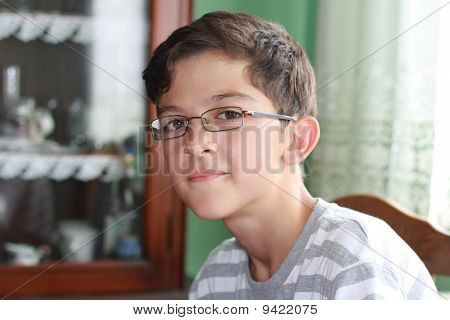 Boy With Glasses