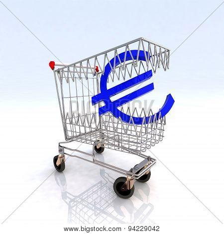 Shopping Cart That Bites