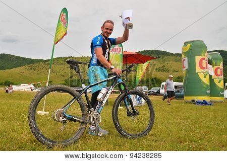 Mountain Biking Winner Of The Competition