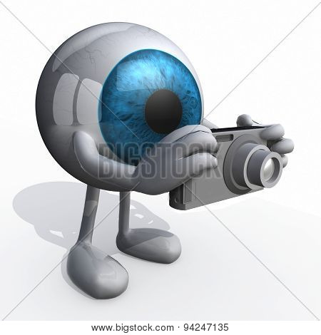 Big Blue Eye Photographer