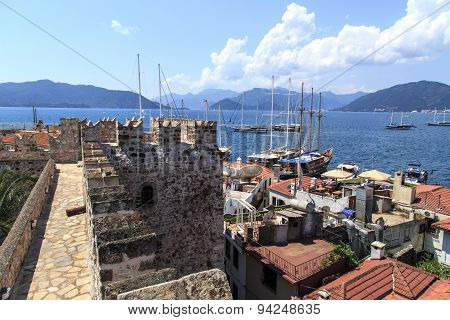 View Of Marmaris Tower