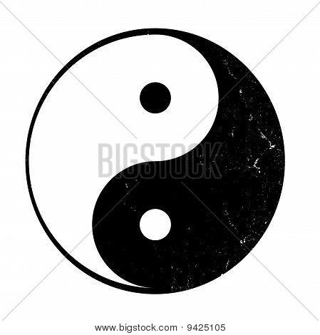 Yin yang, symbol of balance.