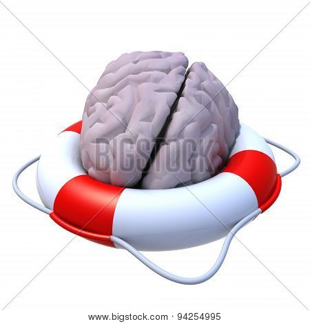Brain In A Lifesaver
