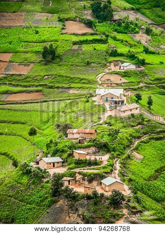 Rural Landscape Of Kabale